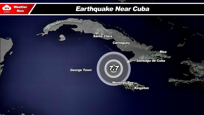 Terremoto magnitud 7,7 remece Cuba, Jamaica, Islas Caimán y costa mexicana