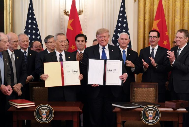 ¿Tregua en la alocada Guerra Comercial? EEUU y China firman acuerdo
