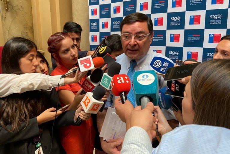 Renunció Felipe Guevara como delegado presidencial de la Región Metropolitana