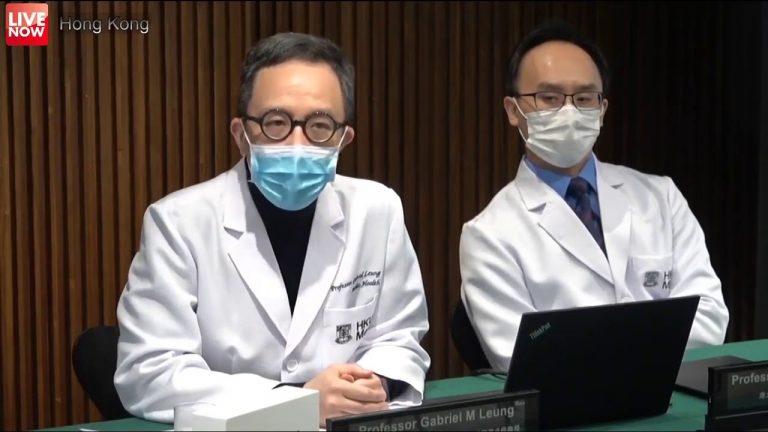 CORONAVIRUS: Epidemiólogo experto de Hong Kong advierte que podría infectar al 60% de la población mundial
