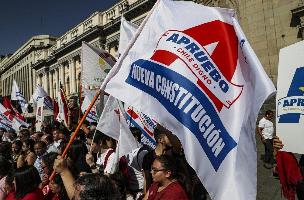 Ya es noticia del mundo: Arranca en Chile campaña rumbo a plebiscito constitucional