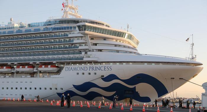 Se confirma la primera chilena contagiada con Coronavirus: Se trata de una tripulante del Diamond Princess