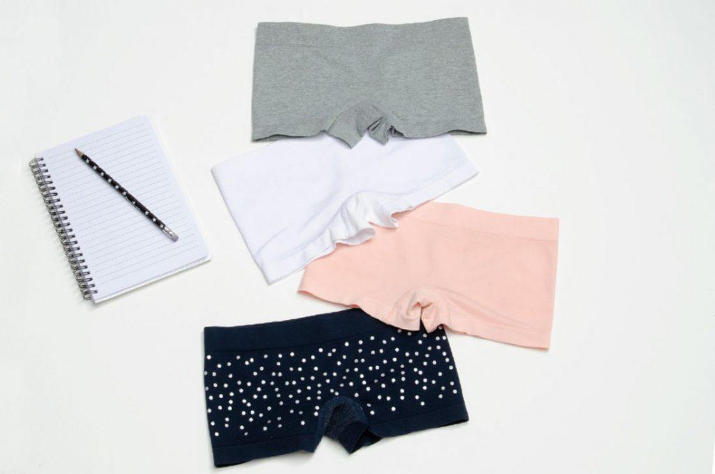 Las nuevas tendencias en ropa interior para escolares