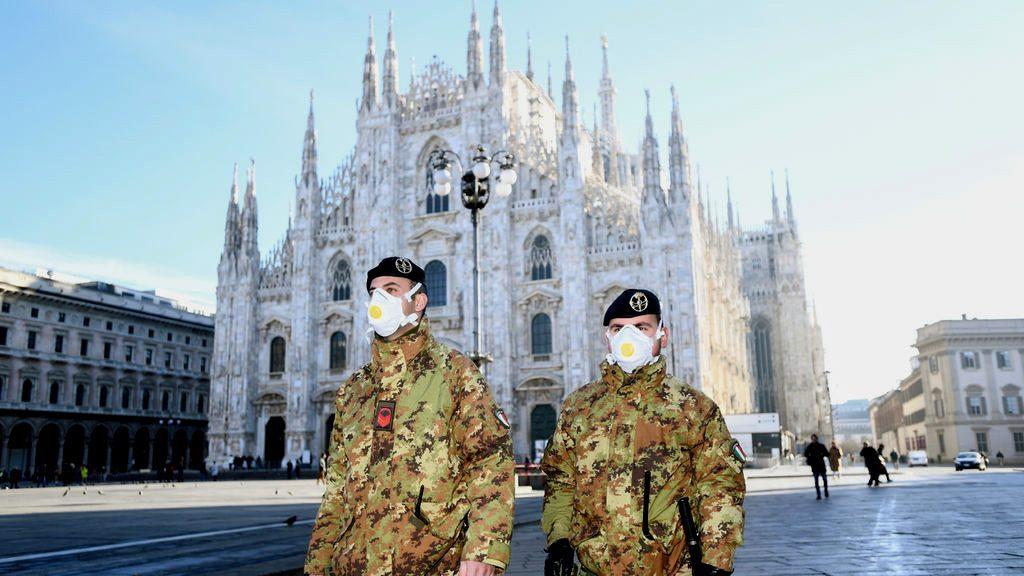 Coronavirus: sexta víctima en Italia y más de 200 contagiados