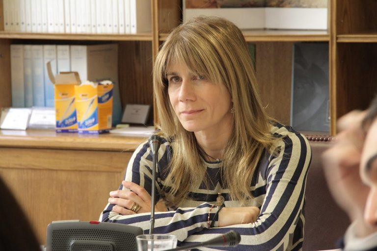 DC nomina a Ximena Rincón para presidir el Senado