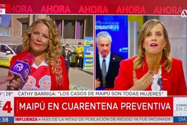 Los pecados de Cathy Barriga al informar segunda muerte por coronavirus sin respetar protocolos