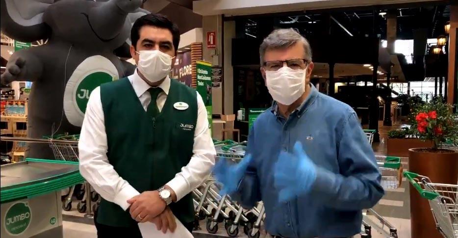 Criminal visita a supermercado: Mujer con CORONAVIRUS literalmente fue a contagiar a recinto de Las Condes. Quedó detenida