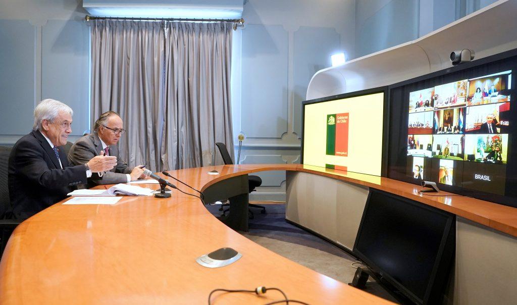 Mandatarios de países del Prosur acordaron fortalecer comunicación y medidas regionales para combatir el coronavirus