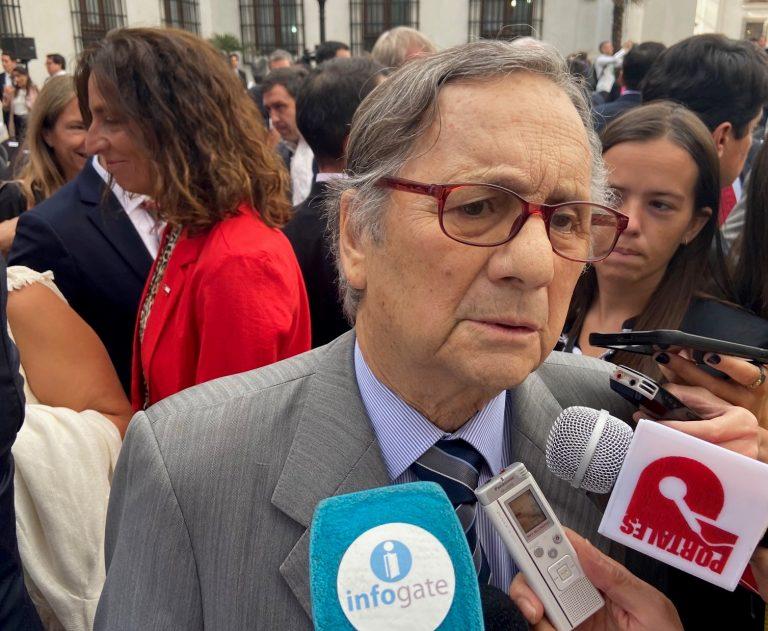"""Belisario Velasco: el """"demócrata y republicano"""" en la conmemoración de los 30 años del retorno de la democracia"""