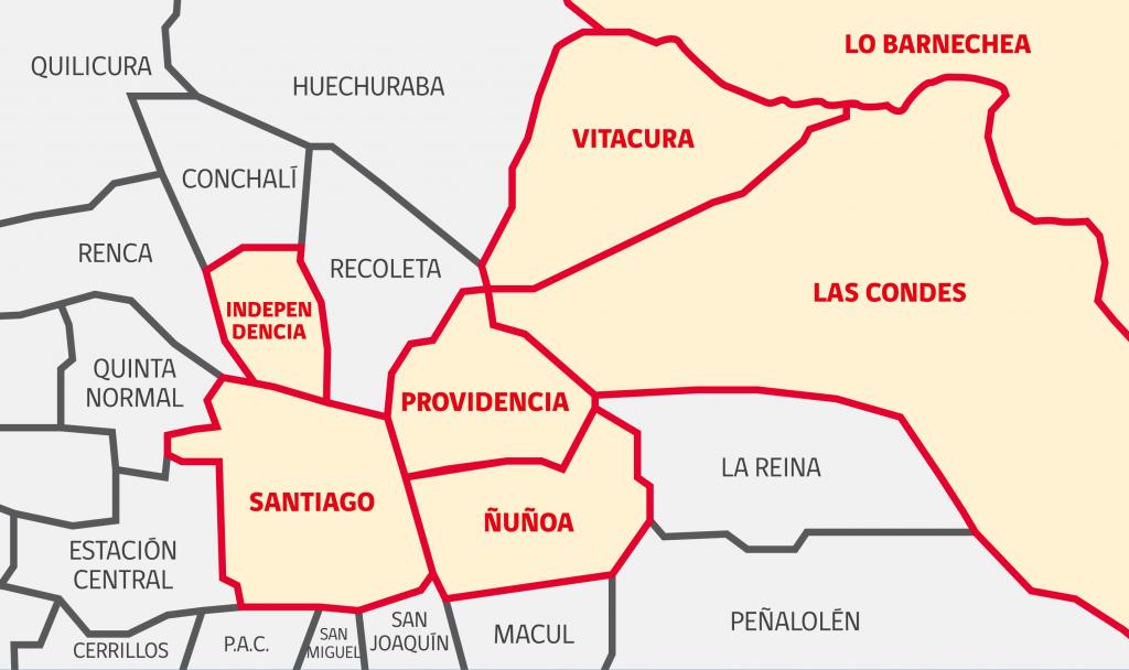 Conoce el instructivo del Gobierno para los permisos en las 7 comunas en cuarentena total