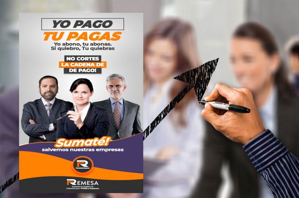 """Campaña """"Tú pagas, yo pago"""" invita a las empresas a no cortar la cadena de pago y evitar la quiebra"""