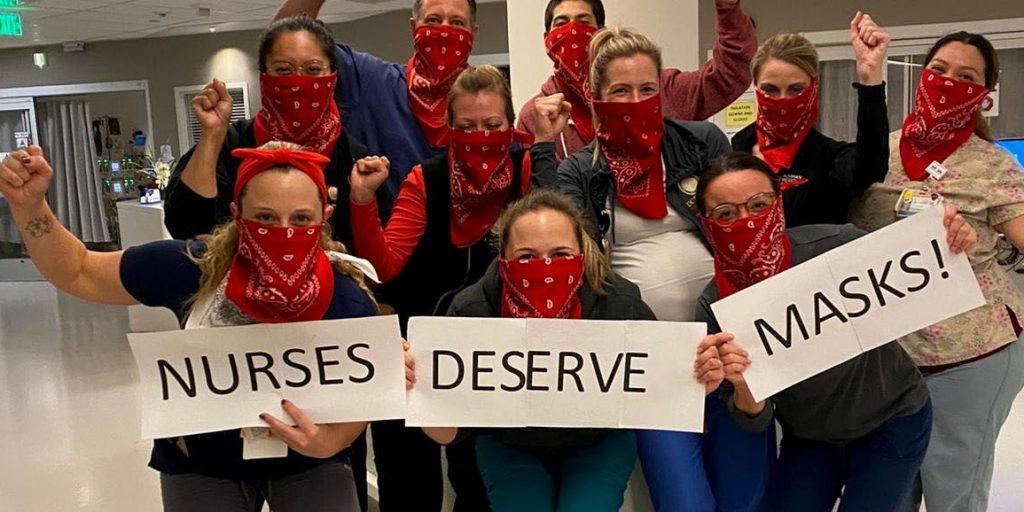 Sindicato de enfermeras de EEUU denuncia grave escasez nacional de equipos de protección ante el CORONAVIRUS