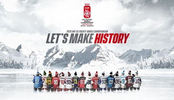 Por CORONAVIRUS se cancela Mundial de Hockey sobre hielo en Suiza