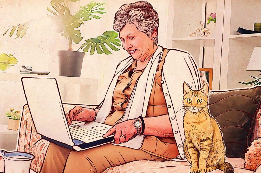 Proteja a los adultos mayores de las ciberestafas