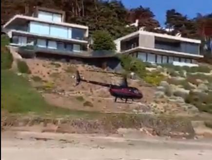 Multan con más de $15 millones a empresario que uso helicóptero para violar cuarentena