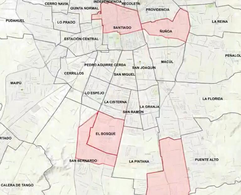 Gobierno levanta cuarentena en cuatro comunas y suma tres a confinamiento por CORONAVIRUS