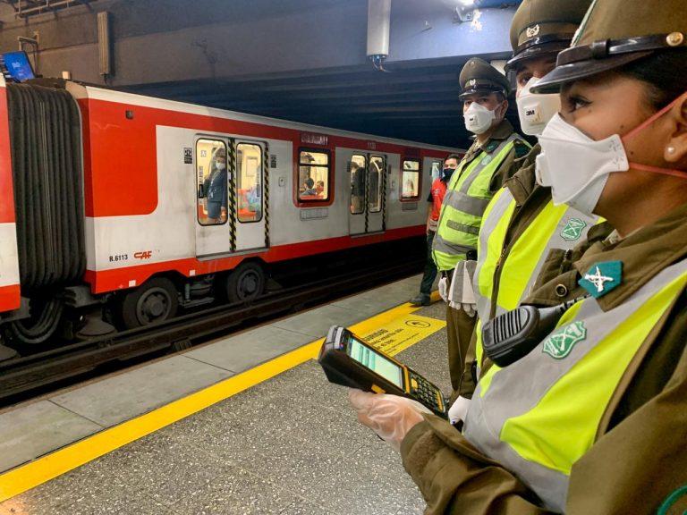 Gobierno valora buena disposición de usuarios para uso obligatorio de mascarillas en el transporte público