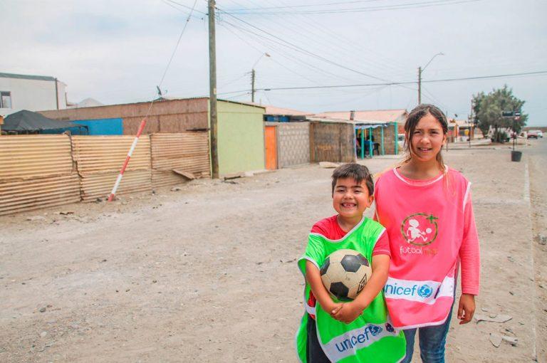 Fundación Fútbol Más lanza cápsulas para trabajar hábitos de vida saludable y actividad física en niñas y niños