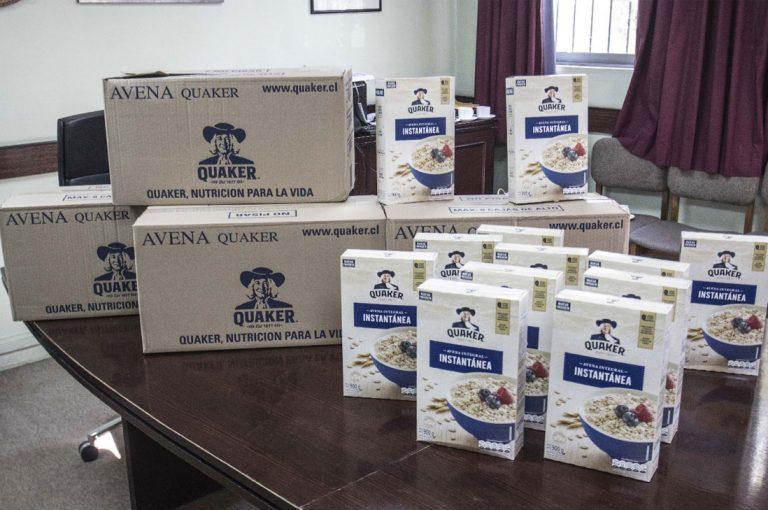 PepsiCo apoya a Cerrillos con donación de alimentos para vecinos afectados por el coronavirus