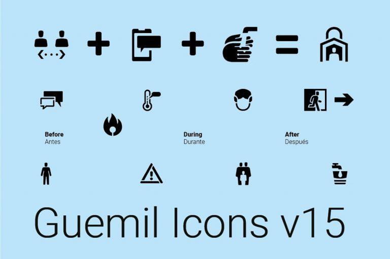 Expertos en información visual lanzan íconos que podrían ser usados durante emergencias sanitarias