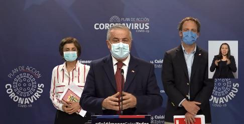 Balance CORONAVIRUS en Chile: 761 fallecidos y 73.997 contagiados