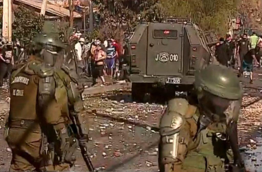 Chile Vamos pide investigar a grupos organizados que usan crisis sanitaria para generar violencia