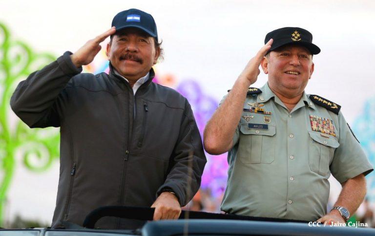 EEUU sanciona al jefe del Ejército y al ministro de Finanzas de Nicaragua