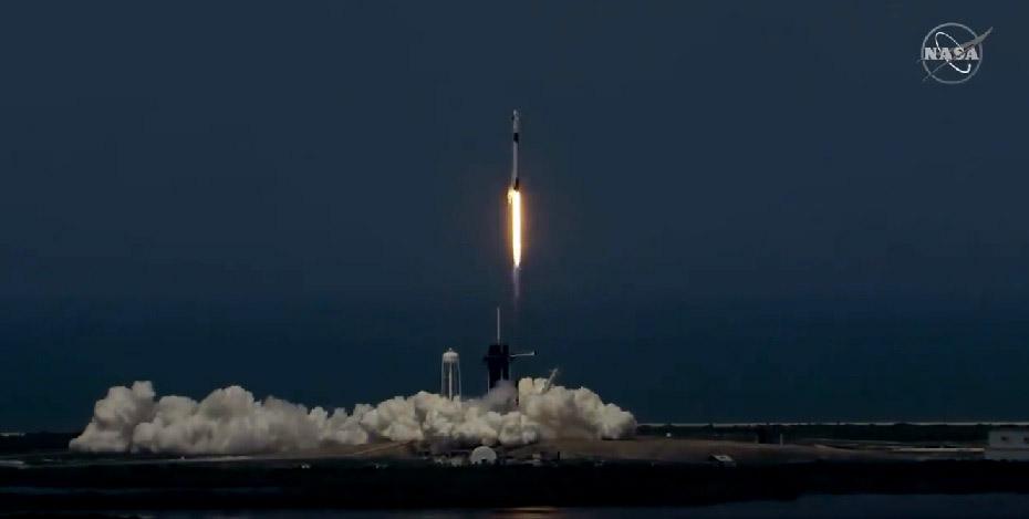 Exitoso lanzamiento de SpaceX : En ruta a la Estación Espacial Internacional
