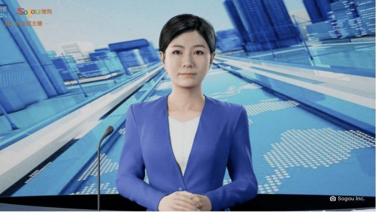 Innovación: China estrena conductores de noticia creados con inteligencia artificial