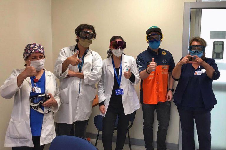 """Mi anteojos se han donado en campaña """"Antiparras para DOCs"""""""