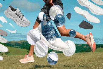 Competidores en el mercado en alianza trabajan en la zapatilla más sustentable del mundo