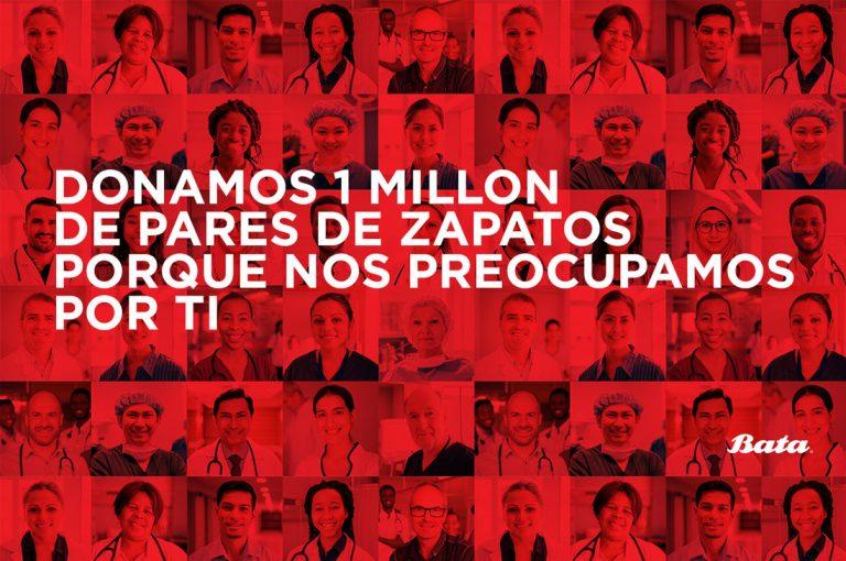 Marca donará 1 millón de pares de zapatos para trabajadores de salud, voluntarios y organizaciones de caridad
