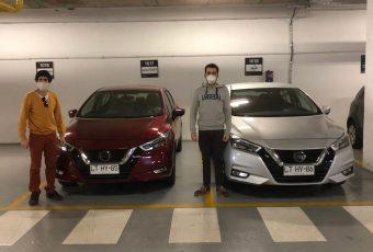 Nissan Chile facilita vehículos a Techo para combatir la pandemia