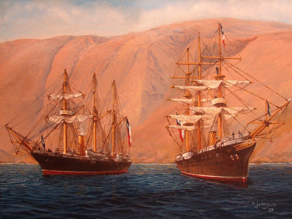 Mes del Mar 2020: Combate Naval de Iquique (Parte 3)