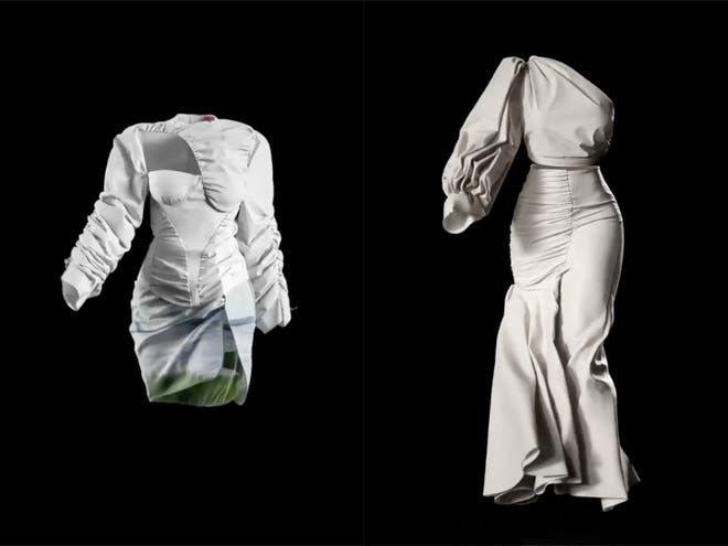Futuro post pandemia: Usan modelos en 3D para presentar desfile de modas virtual