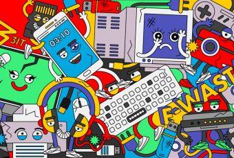 Alrededor de 50 millones de toneladas de basura electrónica se desecha en el mundo