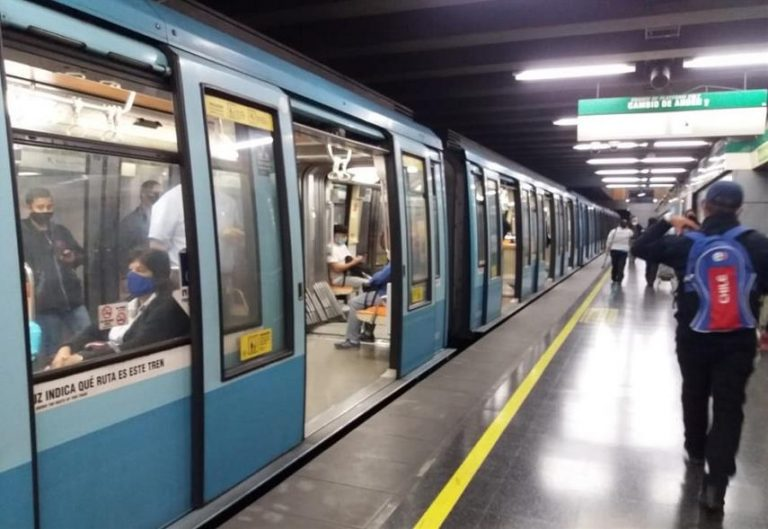 Efecto CORONAVIRUS: Pasajeros del Metro cae en un 52,9% en marzo