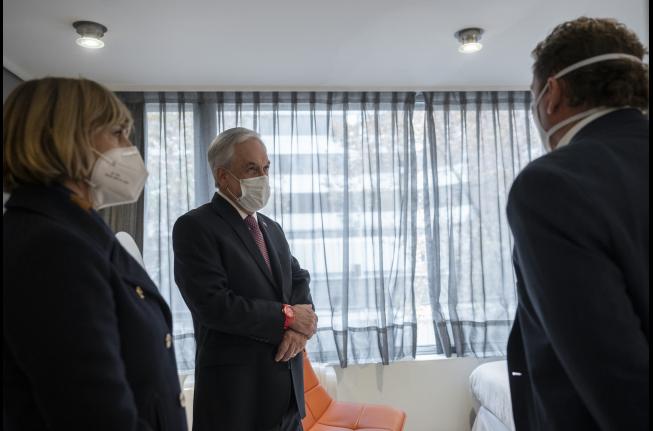 Piñera apuesta por el confinamiento solo para contagiados con CORONAVIRUS y así no aplicar cuarentenas