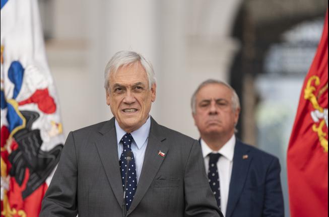 Piñera y Mañalich los peor evaluados frente a crisis del CORONAVIRUS