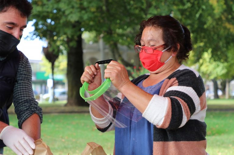 Donaciones de la Casa de la Inclusión de Curanilahue ya han beneficiado a más de 450 personas