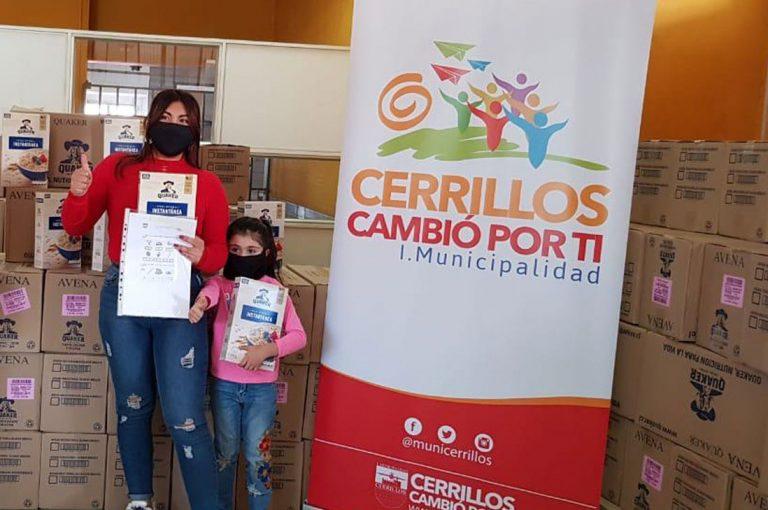 Cerrillos recibe donación para más de 4 mil niños  y jóvenes de la comunidad estudiantil