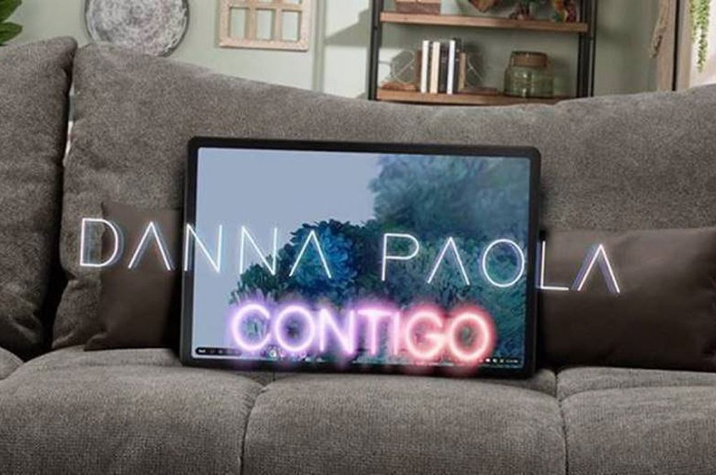 """Danna Paola estrena el video oficial de """"Contigo"""""""