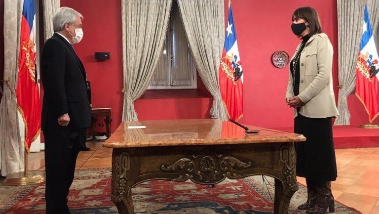 Con corte de audio incluido, Mónica Zalaquett asumió como nueva Ministra de la Mujer y Equidad de Género