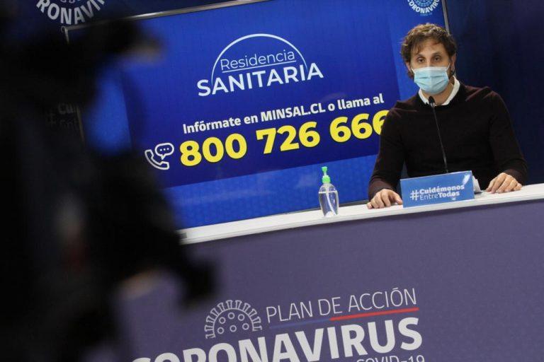 Muertos por COVID-19 en Chile llega a los 5.509 y contagiados a 271.982