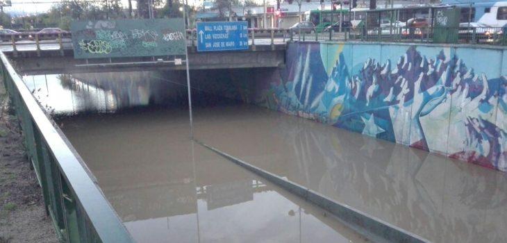 Intensas lluvias causan estragos en la zona centro sur del país