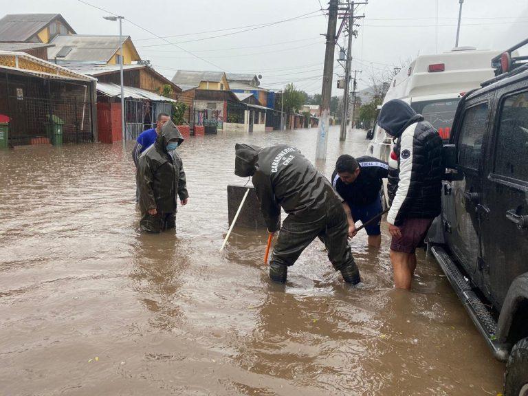 Onemi mantiene Alerta Temprana Preventiva para la RM y decreta Roja para Valparaíso por sistema frontal