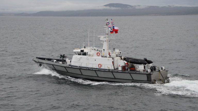 """31 años de servicio cumple la LSG """"Hallef"""", construida en Asmar Talcahuano"""