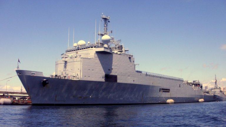 """Armada trasladará a buque """"Sargento Aldea"""" a Valparaíso para apoyar la atención sanitaria en medio de la pandemia"""