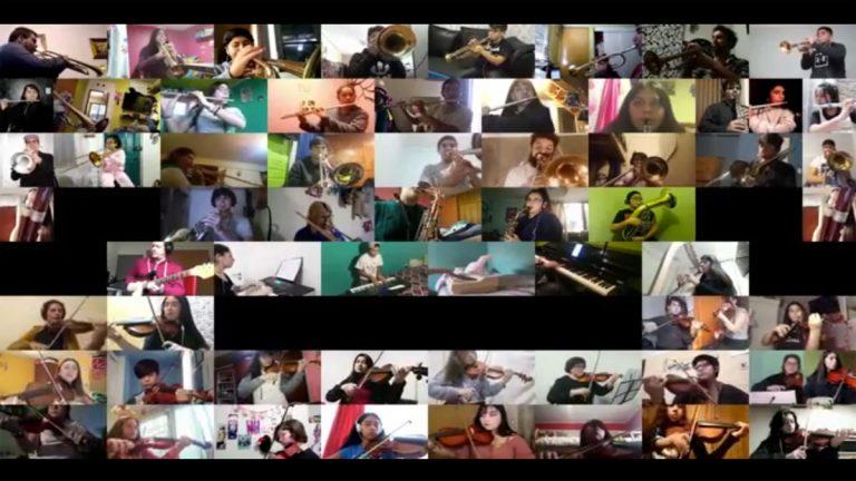 """Más de 170 alumnos de colegios de la red SIP participan en grabación del """"Himno de la Alegría"""" de Beethoven"""