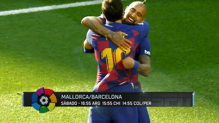 Vuelve el fútbol en España con Arturo Vidal como protagonista en vivo por ESPN